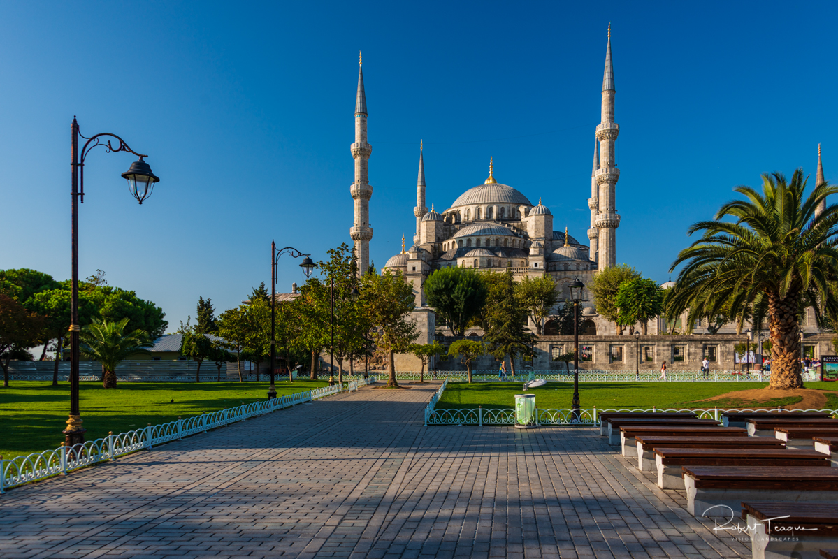 Early Morning at the Sultan Ahmet Mosque