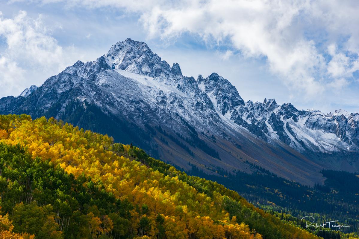 Mount Sneffels in Fall Foilage