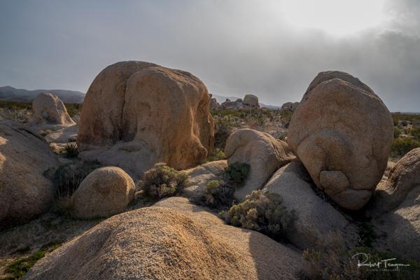 Rocks and Clouds - Joshua Tree National Park, California