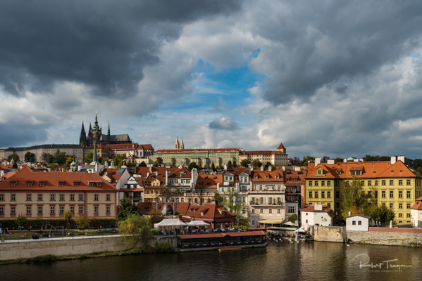 Prague Castle and St Vitus Cathedral on the Hill